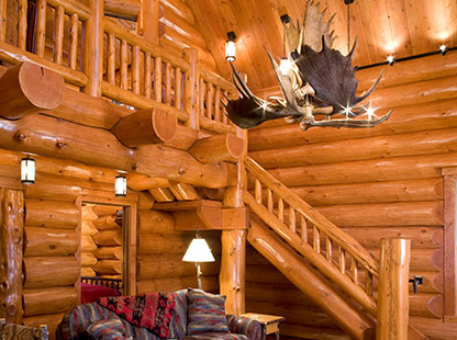 Ryanu0027s Rustic Railings | Custom Log Furniture | Orr, MN