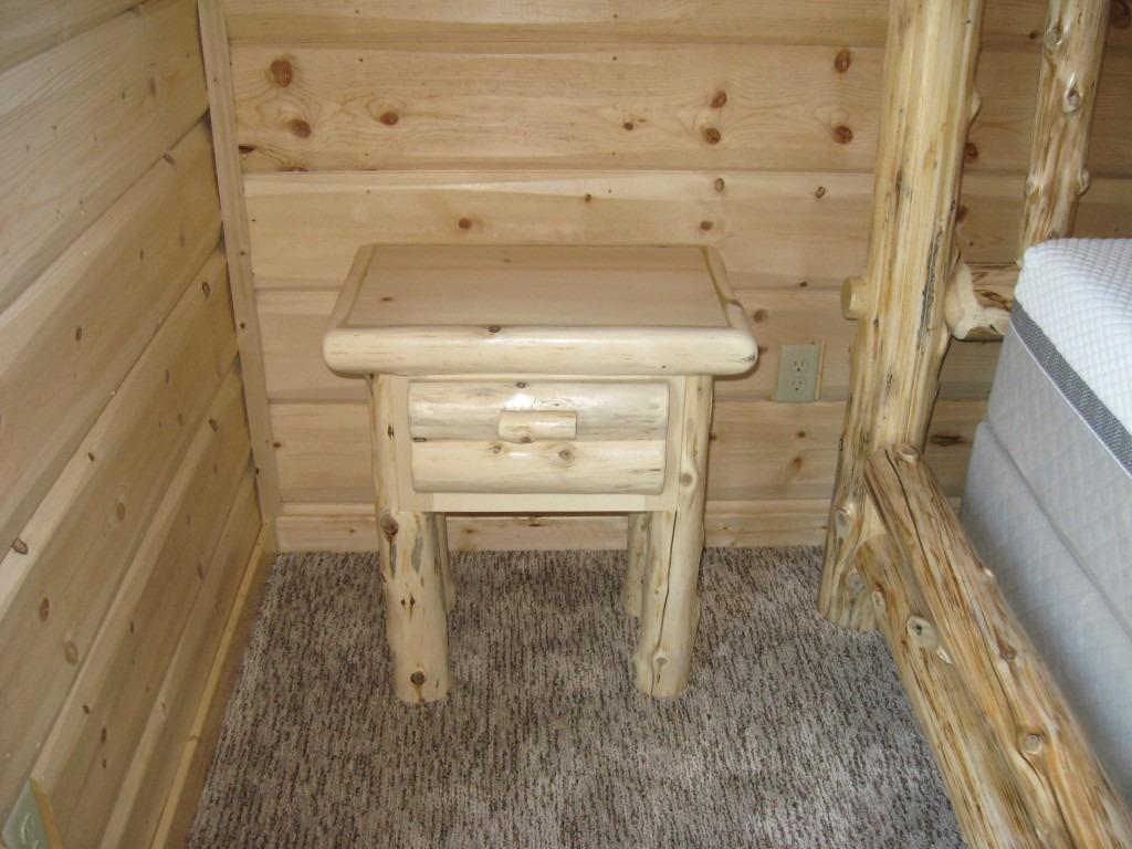 Custom Timber Nightstand