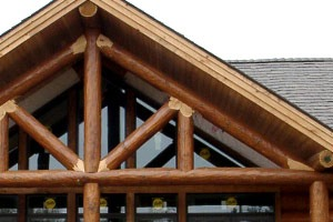 Custom wood trusses