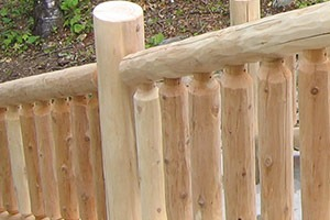 work in progress railing