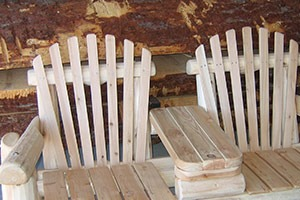 wood patio chairs